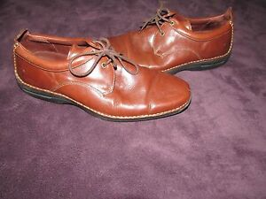 mens cole haan brown dress shoes size 10 5 m nike air sole