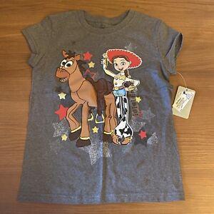 Disney Camiseta de Manga Corta para ni/ñas Toy Story Jessie