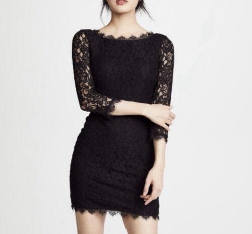 Diana Von Furstenberg Women's Size 8 Zarita Black