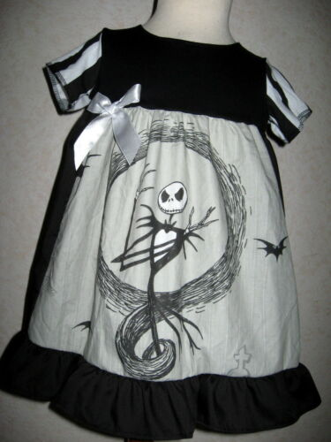 New Girls Black Grey White Night B4 Christmas Dress Headband set Gothic Gift