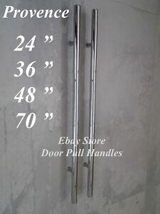 Entry Front Door Long Commercial Door Pull Handle Stainless Steel ...