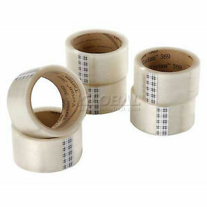 "CLEAR TAPE - NEW 6 Rolls 3M 369 Tartan 1.88"" wide x 109"