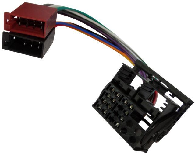 Adaptador cable enchufe ISO para autoradio de Land Rover Defender 2 Range Rover