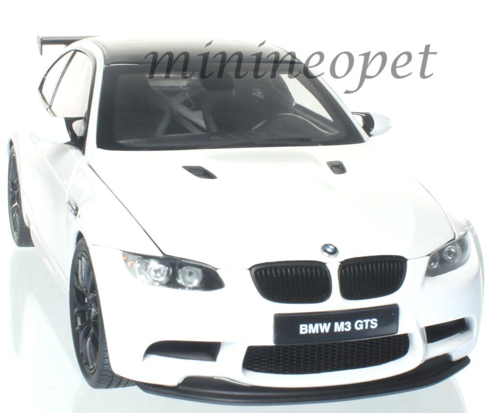 KYOSHO 08739 W BMW M3 GTS 1 18 DIECAST MODEL CAR ALPINE Weiß