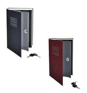 Book-Safe-Various-Colours-Book-Safe-Cash-Box-Safe-Geheimfach-Book-Safe