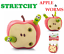 STRETCHY-APPLE-amp-WORMS-Fiddle-Toy-Gift-Anti-Stress-Relief-Help-Christmas-Gift thumbnail 1