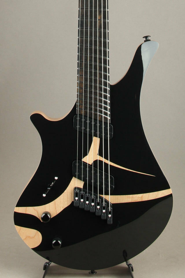Oni Guitars Essi 7st Left Hand 2018 NAMM Model Electric Guitars w/Flight Case
