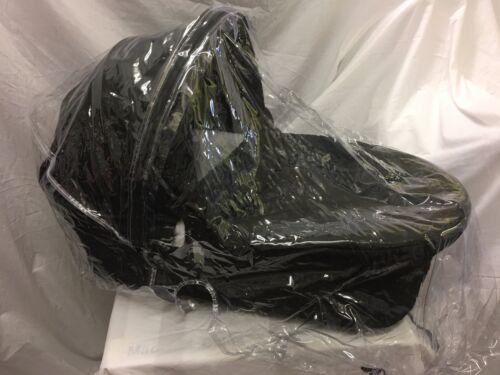 NEW PVC RAINCOVER RAIN ZIP ACCESS I CANDY ICANDY CHERRY PRAM BLACK TRIM