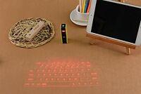 Virtual Keyboard Bluetooth Laser Projection Smartphone Pc Tablet Laptop Wireless