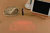 Virtual Keyboard Bluetooth Laser Projection Smartphone Pc Tablet Laptop Wireless