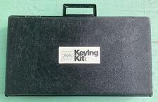 Weiser Professional Locksmith Keying Kit 1387 Pins Springs Parts Tools Case Etc