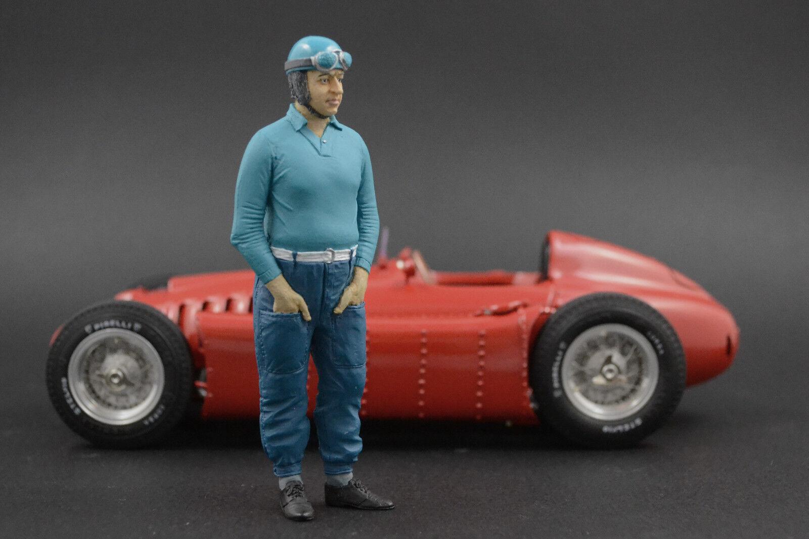 Alberto Ascari Figure pour 1 1 1 18 HotWheels Ferrari 500 375 166 VERY RARE 5028c6