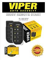 Viper Car Alarm Remote Start 5806v Brand 2 Way Directed Dei