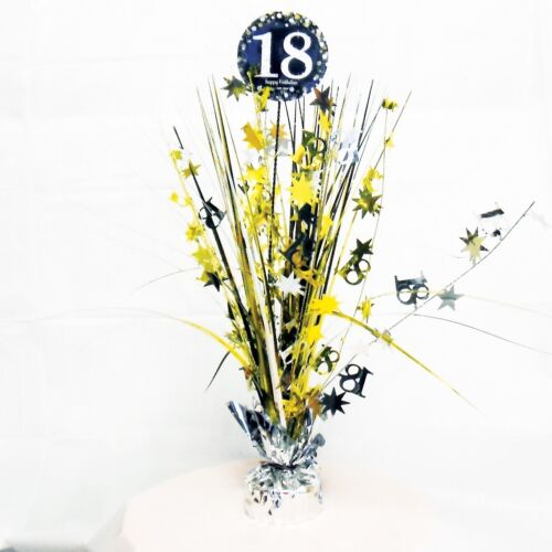 Balloons Decorations Gold Sparkle 18th Birthday Party Supplies Tableware