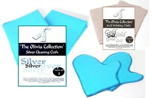 TOC Gold Silver Jewellery Cleaning & Polishing Cloths Mitts Gloves Fast Dispatch