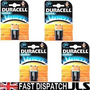 4-DURACELL-9V-Ultra-M3-Alkaline-PP3-MN1604-Battery-UK