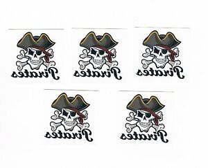 5-x-Kids-Temporary-Tattoos-Pirates-Great-Party-Favours-Stocking-Fillers