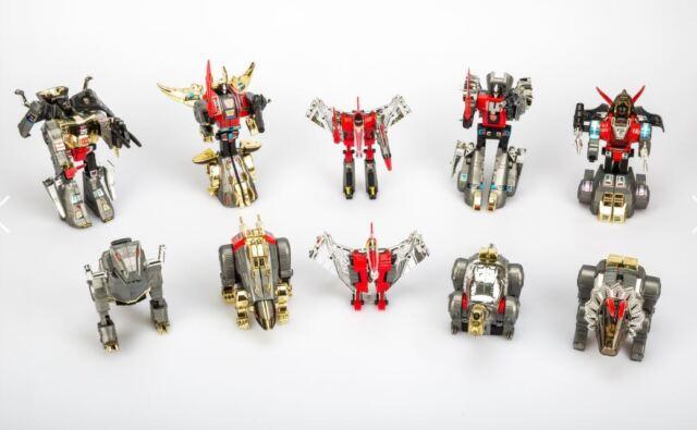 Snarl Swoop 5pcs set kids toys Transformers G1 DINOBOTS Grimlock+Slag+Sludge