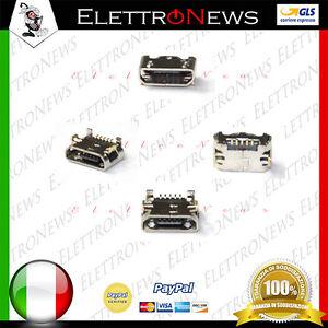 Connettore micro usb per plug in Spinotto Clementoni ClemPad 3G 8° V38190 A019