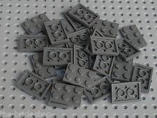 25 x LEGO DkStone plate 2x3 ref 3021 / Set 10188 4504 8038 7905 7662 10131 4955