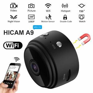 Mini Wifi IP Cachée Caméra Sans fil Espion Caché Vision Nuit Sécurité Extérieur