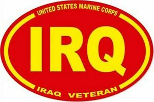 3-X-4-5-UNITED-STATES-MARINE-CORPS-USMC-IRQ-IRAQ-VET-OVAL-EURO-STICKER