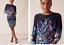 Phase-Eight-UK-20-Black-Kris-Floral-Placement-Print-Long-Sleeve-Pencil-Dress-48 thumbnail 7