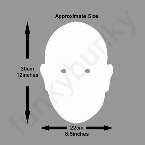 tous nos masques sont pré-coupé! Dara Briain comédien carte visage masque