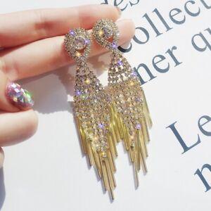 862a6e0388ba5 Details about Trendy Jewelry Statement Dangle Drop Hoop Earrings Big Gold  Geometric Wedding