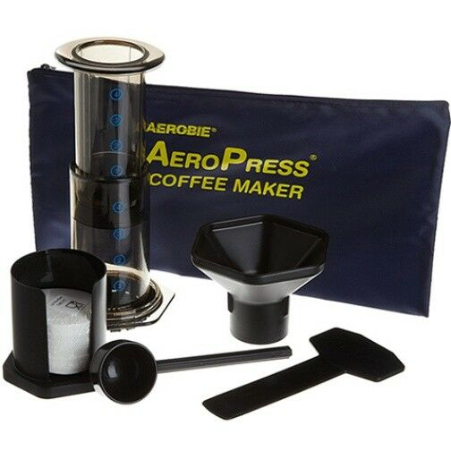 Aero Press + Stainless Filter Set (with pouch)