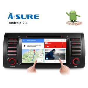 Android-8-0-DVD-GPS-Quad-Core-WIFI-BT-amp-3G-Autoradio-fuer-BMW-E39-E53-X5-M5