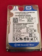 Hard Drive - 500 GB Western Digital Scorpio Blue - OS X 10.10 - MacBook Pro