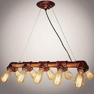 Retro Kronleuchter Industrie Hängelampe Deckenlampen