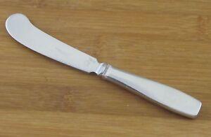 Georg-Jensen-Plata-Satin-Butter-Spreader-Knife-6-1-4-034-Denmark-Stainless-Flatware