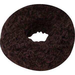 Dark-Brown-Hair-Scrunchie-Elastic-Bobble-Scrunchy-Band-Girls-Womens-Accessories