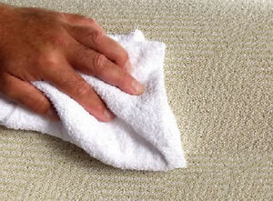 6 cotton terry cloth cleaning bar towels shop rags 12x12