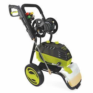 Sun Joe High Performance Electric Pressure Washer | 3000 PSI | 20-Ft Hose Reel