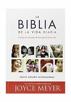 La Biblia De La Vida Diaria - Tapa Dura: El Poder De La Palabra... Free Shipping