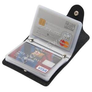 US-Men-039-s-Cards-Slim-PU-Leather-ID-Credit-Card-Holder-Pocket-Case-Purse-Wallet