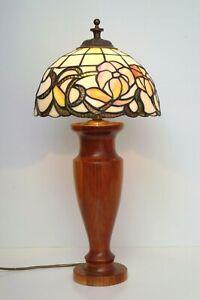 Wunderschoene-Tiffany-Landhaus-Stilleuchte-Tischlampe-Schreibtisch-edel