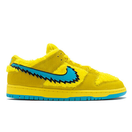 Size 11 - Nike SB Dunk Low x Grateful Dead Yellow Bear 2020 for ...