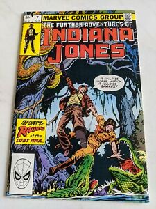 The-Further-Adventures-Of-Indiana-Jones-7-July-1983-Marvel-Comics-HIGH-GRADE