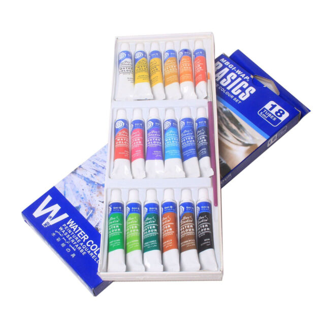 18 Color Draw Painting Water Color Set