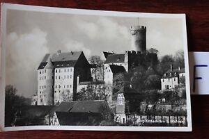 Carte Postale Vue Carte Saxe Château Gnandstein-afficher Le Titre D'origine