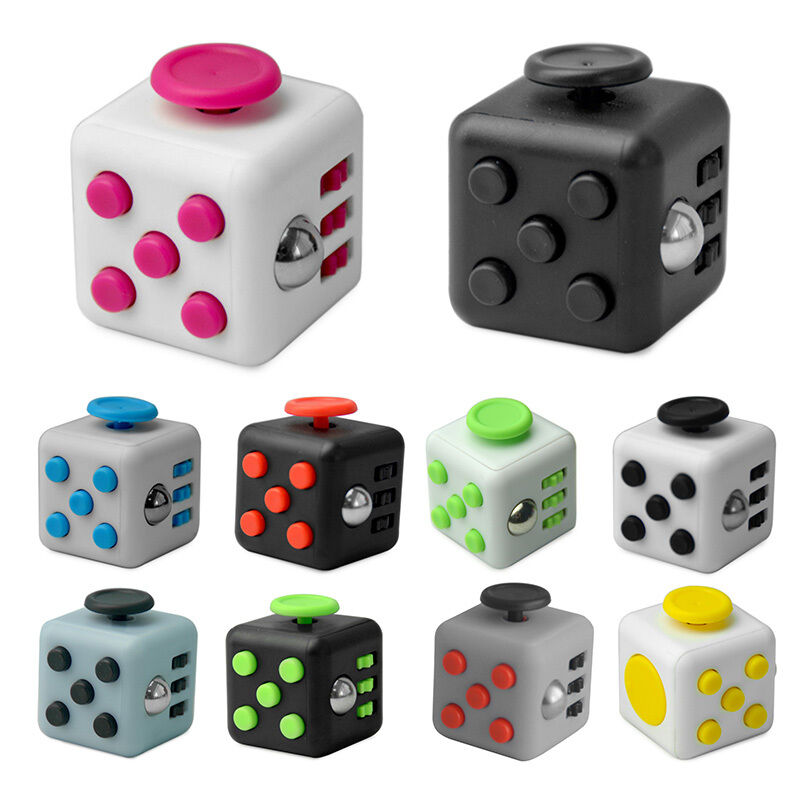 Toys For Toddlers With Adhd : Fidget cube toy anxiety attention stress relief for