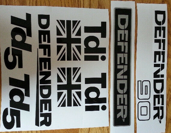 Land Rover Defender 90 decals stickers