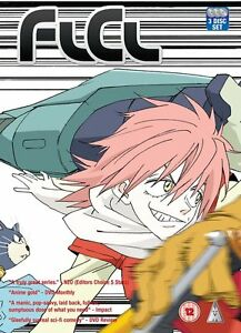 FLCL-Complete-Series-Collection-DVD-New-amp-Sealed-ANIME-Region-2-MVM