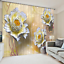 3D Petals 01 Blockout Photo Curtain Printing Curtains Drapes Fabric Window AU