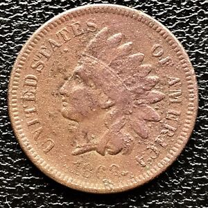 1868-Indian-Head-Cent-One-Penny-1c-Better-Grade-18068