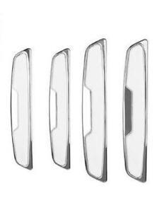 4-X-Blanco-Cromo-Puerta-Protectores-Protector-de-Arranque-insertar-DG7W-se-adapta-a-Mazda